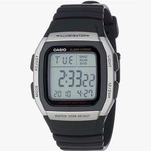 Men's Casio W96H-1BV Alarm Chrono Sports Watch